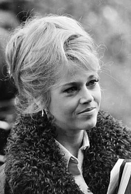 Photograph - Jane Fonda by Reg Lancaster