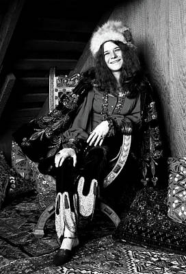 Photograph - Janis Joplin by Doc Braham