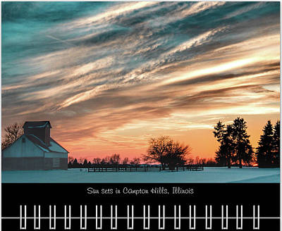 Photograph - January 2019 Classic Calendar Preview by Joni Eskridge