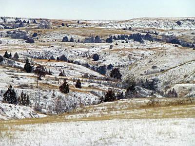 Photograph - January Near Amidon by Cris Fulton