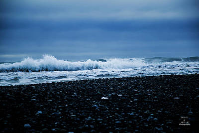 Photograph - Winter Waves  by Kevin Banker