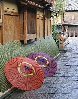 Photograph - Japan, Kyoto Prefecture, Kyoto, Gion by R. Creation