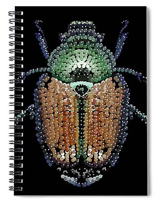 Digital Art - Japanese Beetle Cover by R  Allen Swezey