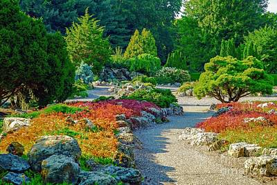 Photograph - Japanese Garden by Susan Rydberg