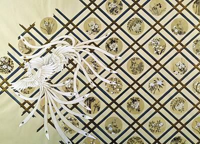 Chrysanthemum Wall Art - Painting - Japanese Modern Interior Art #149 by ArtMarketJapan