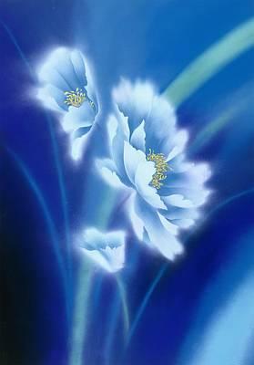 Chrysanthemum Wall Art - Digital Art - Japanese Modern Interior Art #60 by ArtMarketJapan