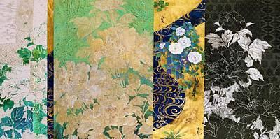 Chrysanthemum Wall Art - Painting - Japanese Modern Interior Art #66 by ArtMarketJapan