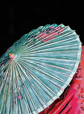 Photograph - Japanese Parasol Study 2 by Dorothy Berry-Lound