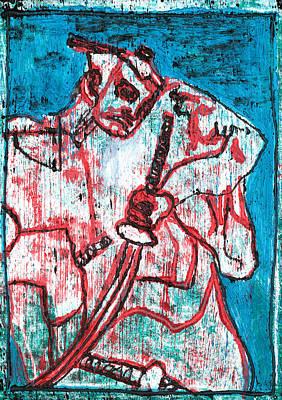 Relief - Japanese Pop Art Print 13r1 by Artist Dot