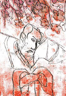 Relief - Japanese Pop Art Print 18f2 by Artist Dot
