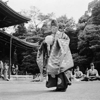 Traditional Clothing Photograph - Japanese Soccer by Evans
