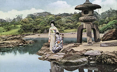 Photograph - Japenese Garden by Spencer Arnold Collection