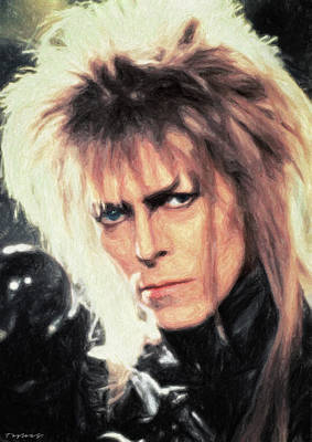 Comics Royalty-Free and Rights-Managed Images - Jareth by Zapista Zapista
