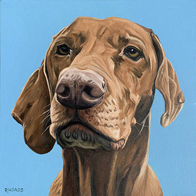 Painting - Jasper by Nathan Rhoads