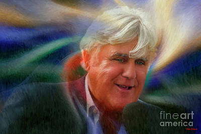Photograph - Jay Leno by Blake Richards