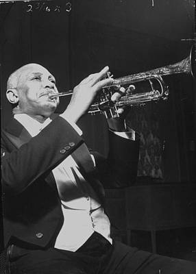 Photograph - Jazz Trumpeter William Christopher by Hansel Mieth