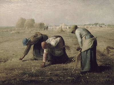 Vesna Antic Abstract Paintings Royalty Free Images - Jean-Franccois Millet - Gleaners 1857 Royalty-Free Image by Jean-Franccois Millet