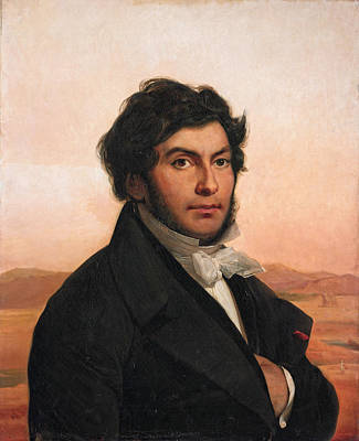 Painting - Jean Francois Champollion by Leon Cogniet
