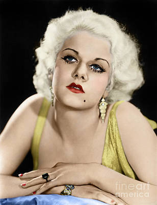 Photograph - Jean Harlow by Granger