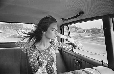 Photograph - Jean Shrimpton by Stan Meagher