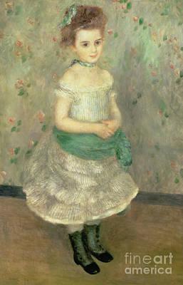 Painting - Jeanne Durand Ruel  by Pierre Auguste Renoir