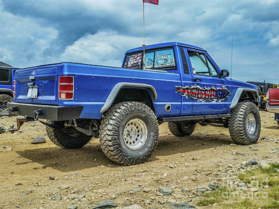 Photograph - Jeep Comanche by Tony Baca