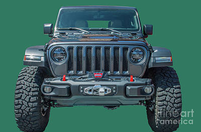 Photograph - Jeep Wrangler Jlu by Tony Baca