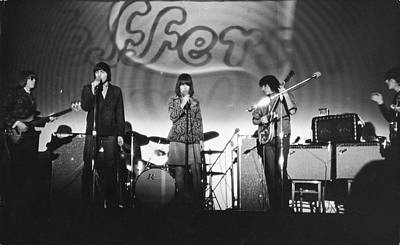 Photograph - Jefferson Airplane At The Fillmore East by Fred W. Mcdarrah