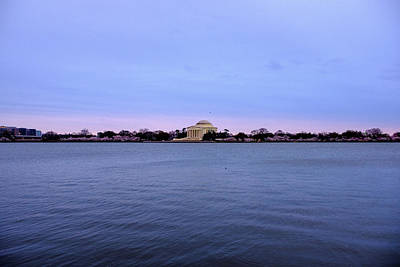 Photograph - Jefferson Memorial During Sunrise by Doug Ash