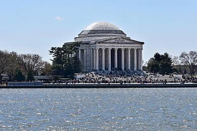 Modern Man Surf - Jefferson Memorial in Early Spring by Doug Swanson