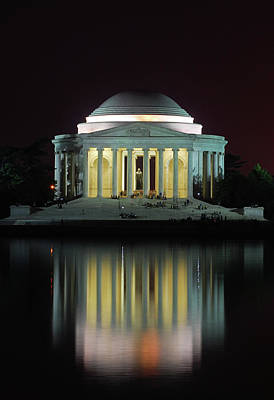 Jefferson Memorial Photograph - Jefferson Memorial by Photo By Kim Baker