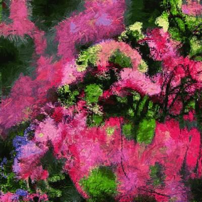 Digital Art - Jellyfish/Flowers by Matthew Daigle