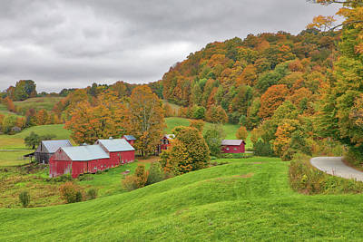 Photograph - Jenne Farm by Juergen Roth
