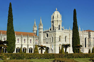 Royalty-Free and Rights-Managed Images - Jeronimos Monastery Lisbon by Joachim G Pinkawa