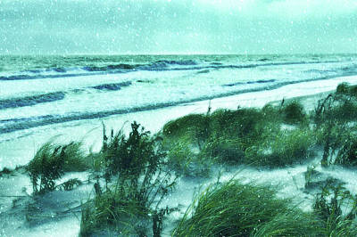 Photograph - Jersey Shore In Snow by Angie Tirado