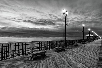 Photograph - Jersey Shore In Winter by Kyle Lee
