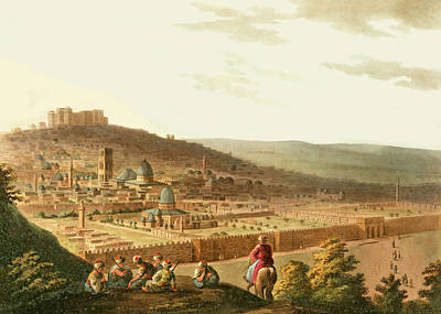 Photograph - Jerusalem 18th Century by Munir Alawi