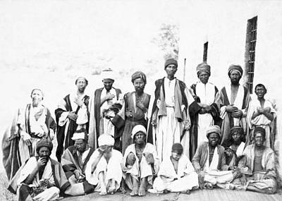 Photograph - Jerusalem Natives 1887 by Munir Alawi