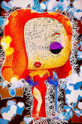 Mixed Media - Jessica Rabbit Pop by Al Matra