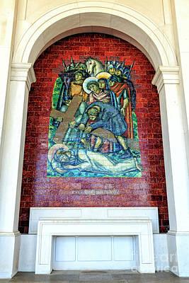 Photograph - Jesus Cai Pela Terceira Vez In Fatima by John Rizzuto