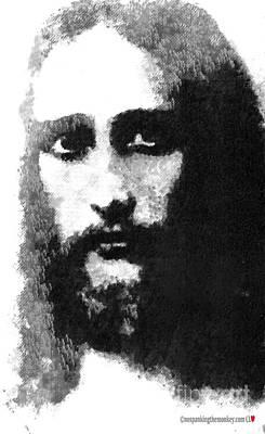 Painting - Jesus by Catherine Lott