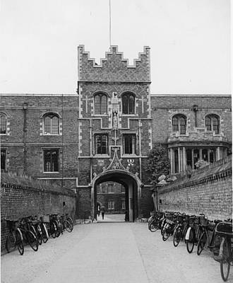 Photograph - Jesus College by Leonard G. Alsford