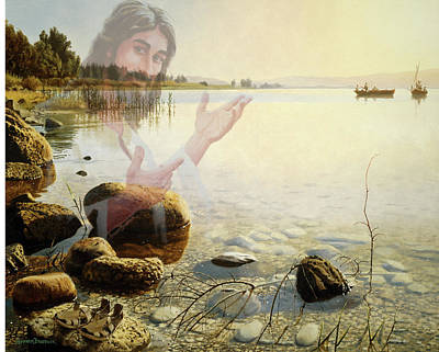 Painting - Jesus, Come Follow Me by Graham Braddock