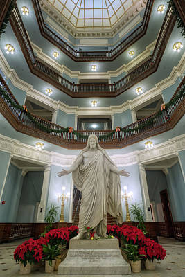 Photograph - Jesus In The Dome At Chistmas by Mark Dodd