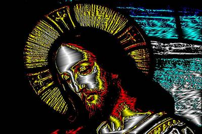 Digital Art - Jesus by Mary Russell