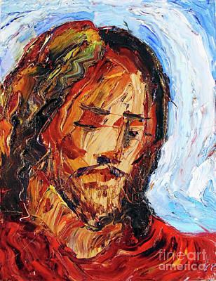 Painting - Jesus Praying  by Arthur Robins