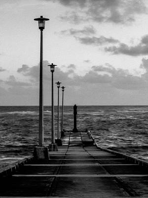 Photograph - Jetty by Stuart Manning