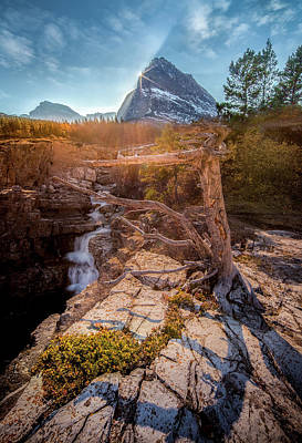 Photograph - Jewel Of The Rockies / Many Glacier, Glacier National Park  by Nicholas Parker