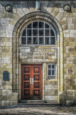 Photograph - Jewellery Quarter Doors And Windows No 5 by Chris Fletcher