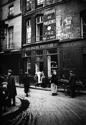 Photograph - Jewish Paris by Henry Guttmann Collection